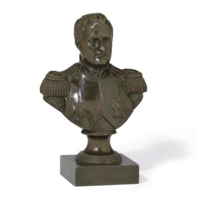 A LOUIS PHILIPPE BUST OF NAPOL