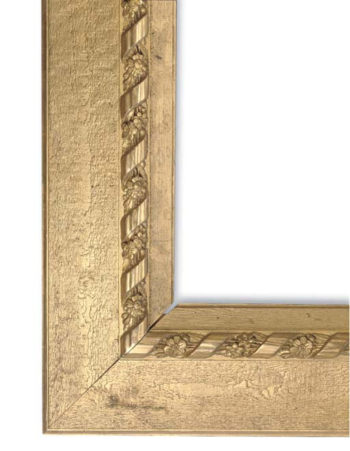 A GILTWOOD AND GESSO FRAME