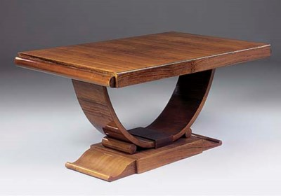 A FRENCH ROSEWOOD EXTENDING DI