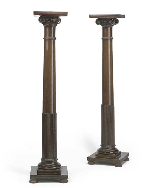 A SMALL PAIR OF LATE VICTORIAN