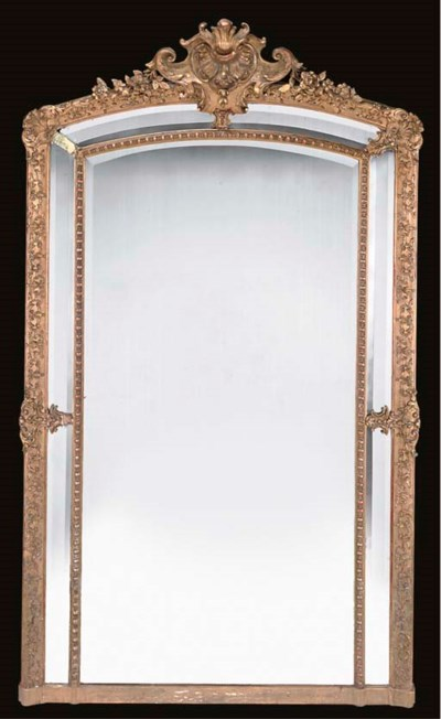 A LARGE FRENCH GILT COMPOSITIO