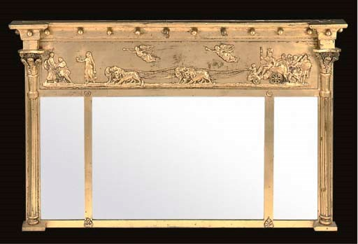 A REGENCY GILTWOOD AND COMPOSI