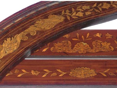 A COLLECTION OF SIX MAHOGANY A