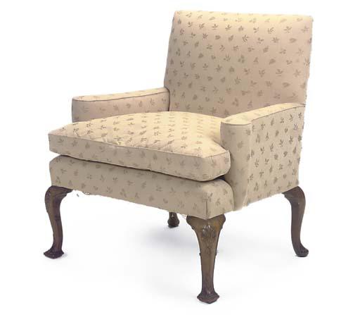 A VICTORIAN WALNUT 'LOVE SEAT'