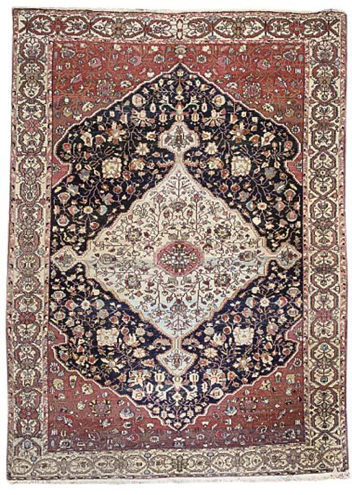 A Sarouk-Bijar carpet