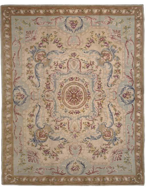 A modern Savonerrie carpet