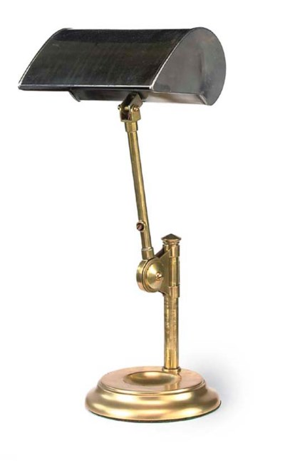 A BRASS AND STEEL ADJUSTABLE D