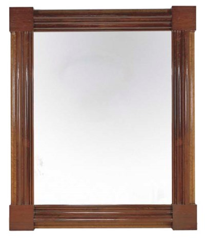 A MASSIVE ENGLISH ROSEWOOD AND