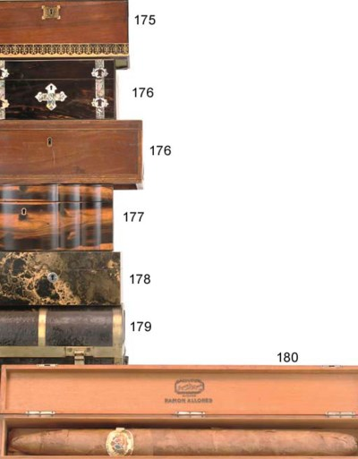 A LACQUER HUMIDOR