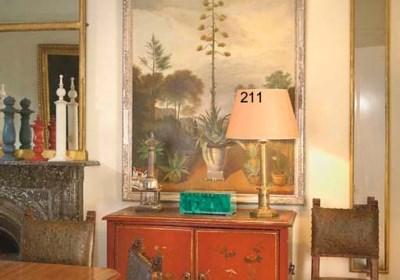 A GILT BRASS TABLE LAMP BASE