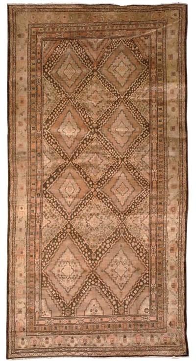 A Khotan carpet, East Turkesta
