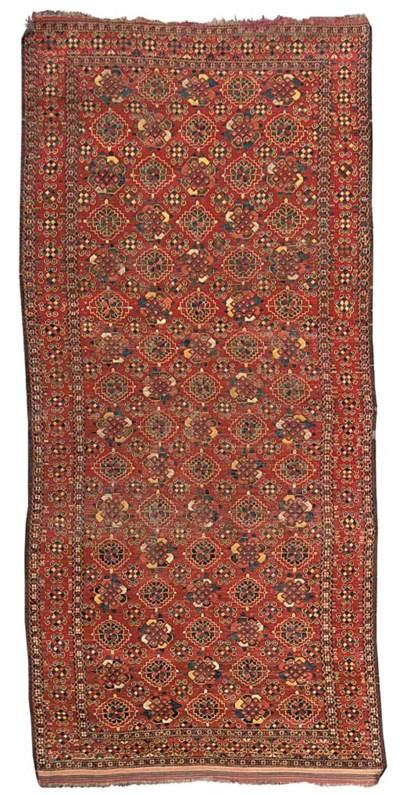 An antique Beshir carpet, Uzbe