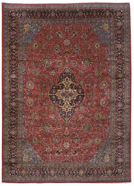 A fine Sarouk carpet, West Persia