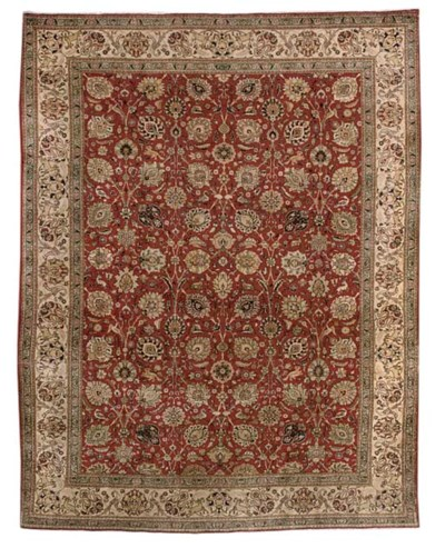 A fine Ravan Tabriz carpet, No