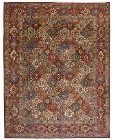 A fine Abazar Tabriz carpet, N