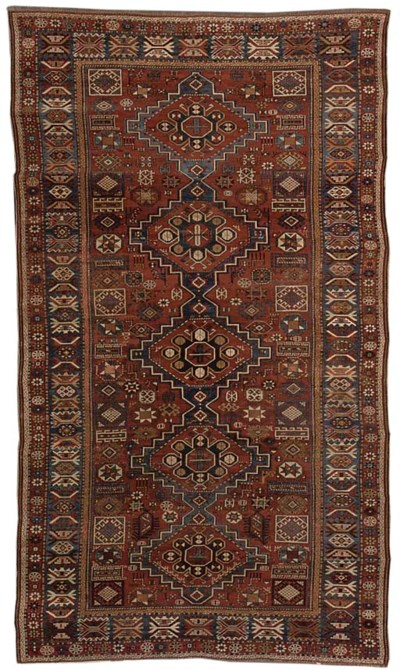 An unusual Shirvan carpet, Eas