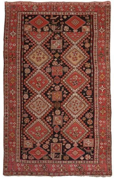 An unusual Shirvan carpet, Eas