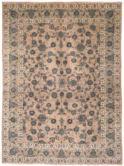 A fine Tavassoli Kashan carpet