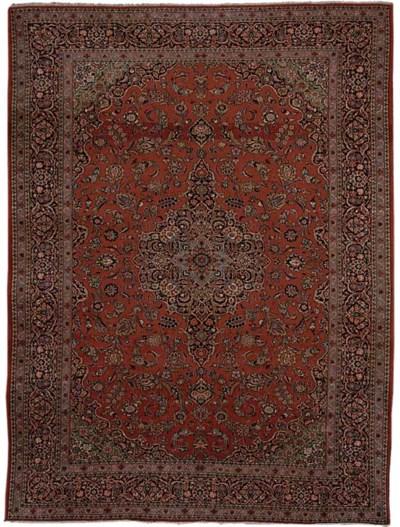 A fine Kashan carpet, Centrl P