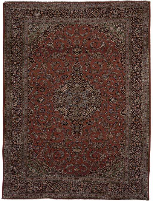 A fine Kashan carpet, Centrl Persia