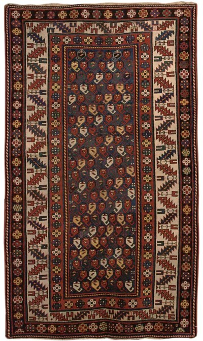 An unusual South Caucasian rug