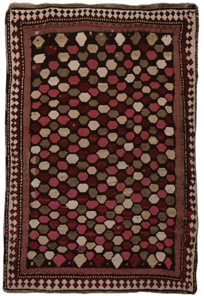 An unusual Gabbeh rug, South-W