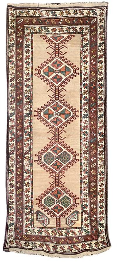 A Serab long rug