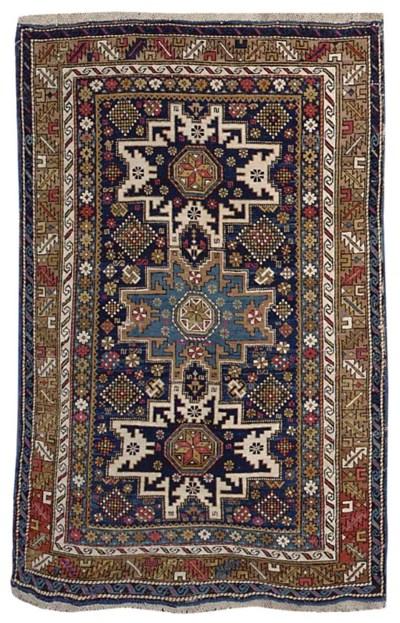 An antique Karagashli rug