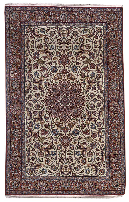 A very fine Isfahan rug