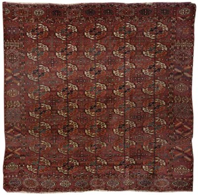 An antique Tekke carpet