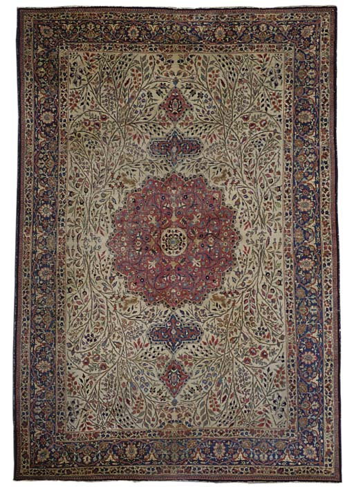 A Tabriz carpet,