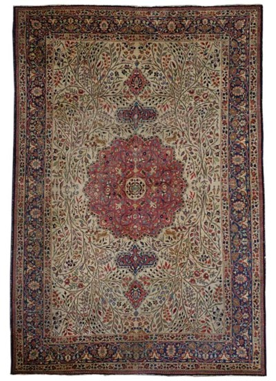 A Tabriz carpet,