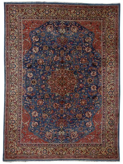 A Sarouk carpet