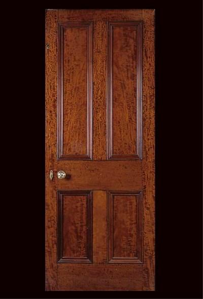FOUR EDWARDIAN MAHOAGNY DOORS