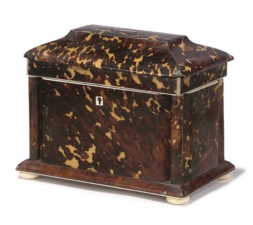 A WILLIAM IV TORTOISESHELL AND