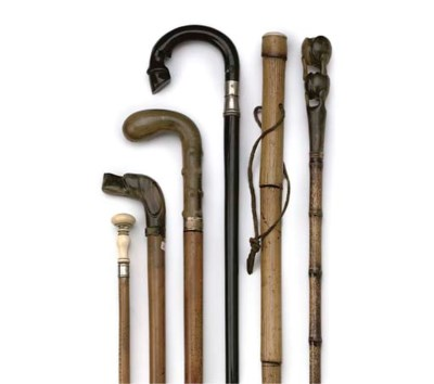 A COLLECTION OF THREE HORN MOU