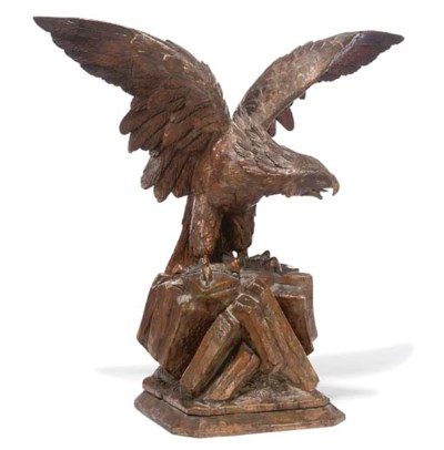 A BLACKFOREST CARVED LIMEWOOD