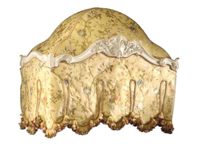 A LOUIS XV-STYLE CREAM-PAINTED