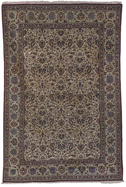 A very fine Nain rug, Central