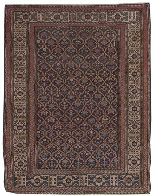 A fine antique Kuba rug, East