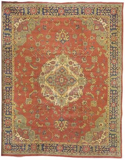 A Ushak carpet, Turkey