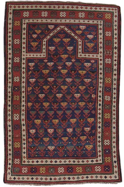 An unusual Talish Prayer rug,