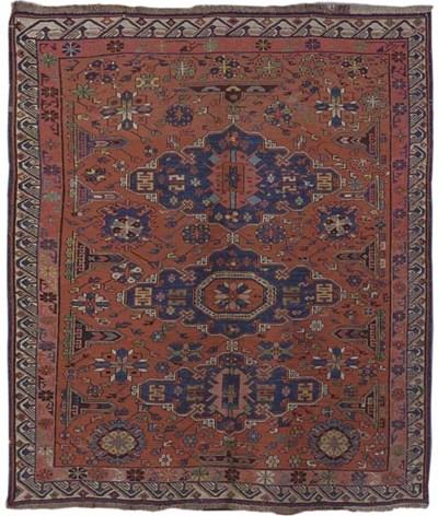 An unusual Soumac rug, South C