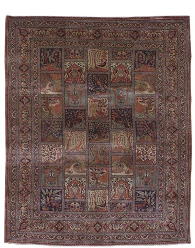 A fine North Persian carpet of
