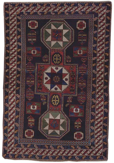 An antique Shivan rug, East Ca