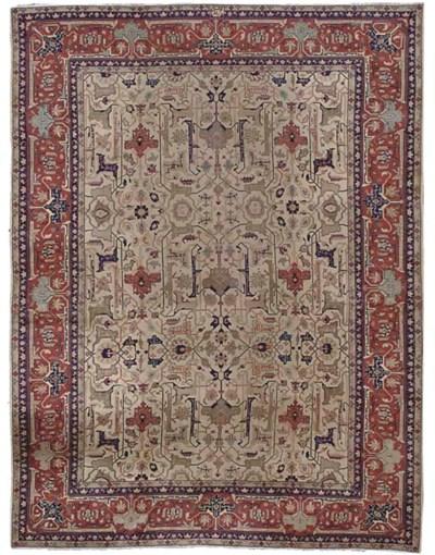 An unusual Tabriz carpet, Nort