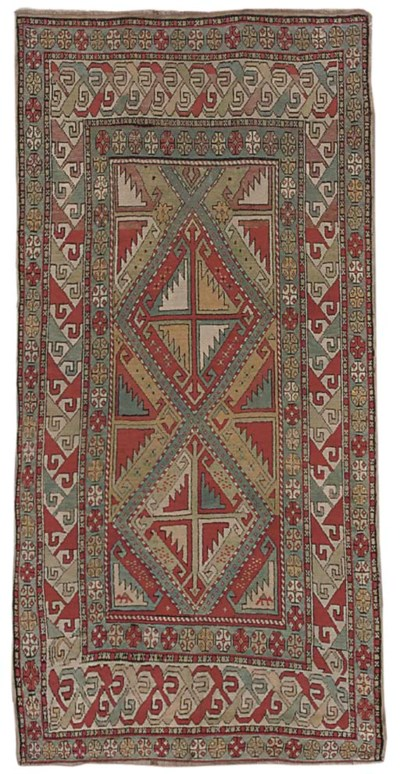 An unusual South Caucasuan rug