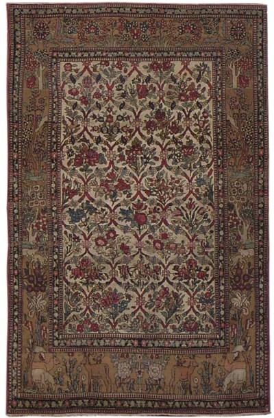 A very fine Teheran rug, North