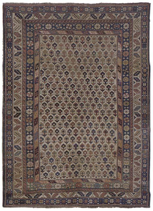 A fine Shirvan rug, East Cauca