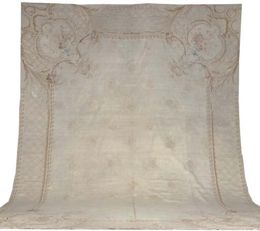 An Aubusson carpet, France